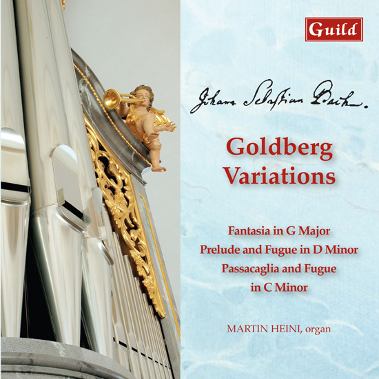 Cover CD Goldbergvariationen